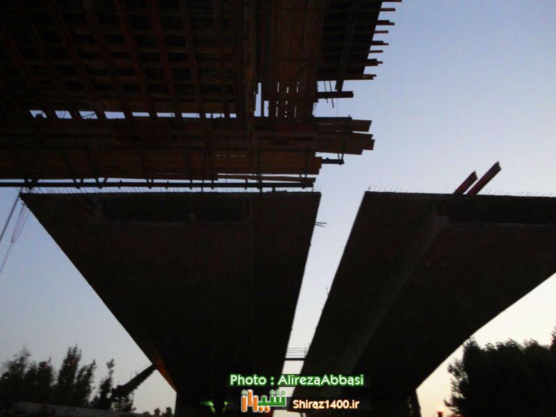 پل روگذر چمران // تیر۹۲