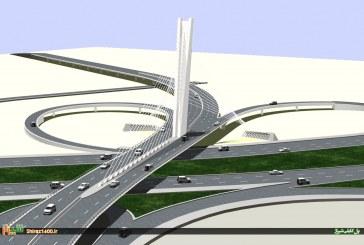 گزارشی از روند ساخت پل کابلی ولیعصر شیراز، بزرگترین پل کابلی ایران