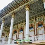 نمای شرقی کاخ