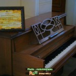 پیانوی تولید سال ۱۸۹۹ نیویورک که در جشنهای ۲۵۰۰ ساله شیراز مورد استفاده قرار گرفت