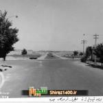 خیابان زند به سمت فرودگاه جدید شیراز