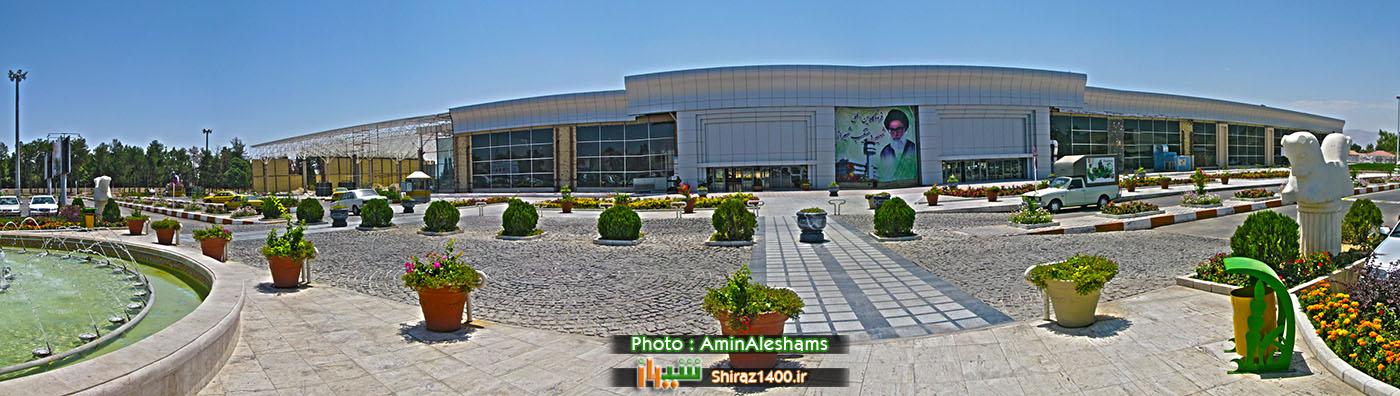 طرح توسعه ترمینال پروازهای داخلی فرودگاه شیراز