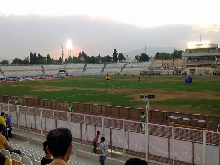 بازگشت فجر سپاسی به ورزشگاه خاطره انگیز حافظیه