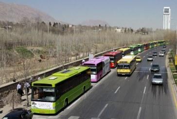 ورود ۹۰ دستگاه اتوبوس شهری به سیستم حمل و نقل شهری شیراز از مهرماه