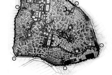 نقشه شیراز در ۱۶۳ سال قبل (۱۲۲۹ شمسی)
