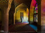 نگاره ای از مسجد نصیرالملک در سایت نشنال جئوگرافیک