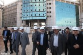 بازدید استاندار فارس از بیمارستانهای پیوند اعضاء و سوانح سوختگی