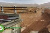 گزارش تصویری: تقاطع ورودی آرامستان احمدی | آذر ۹۲