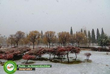 اهالی فارس منتظر برف و باران باشند