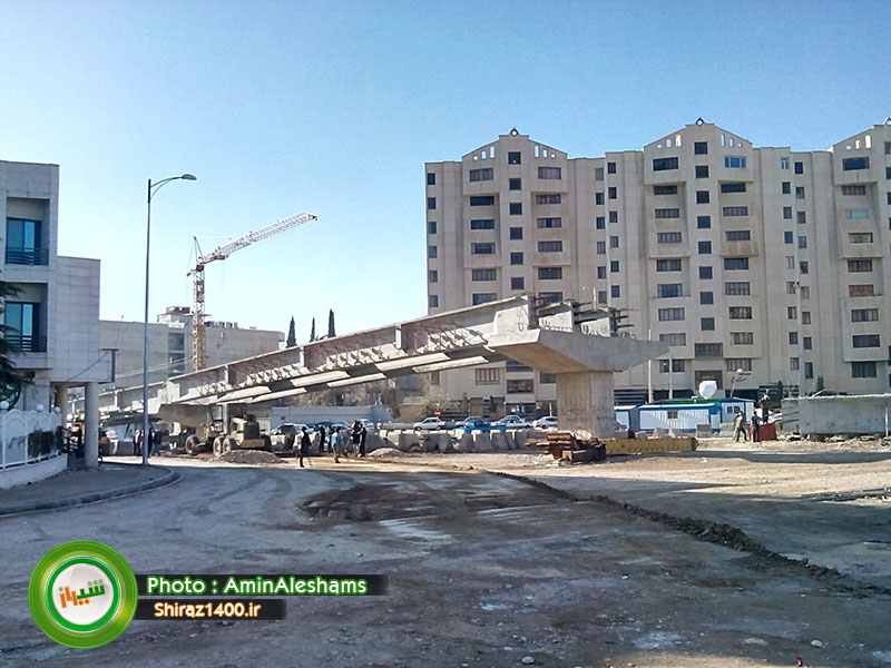 گزارش تصویری : آخرین روند اجرای تقاطع سه سطحی ستارخان