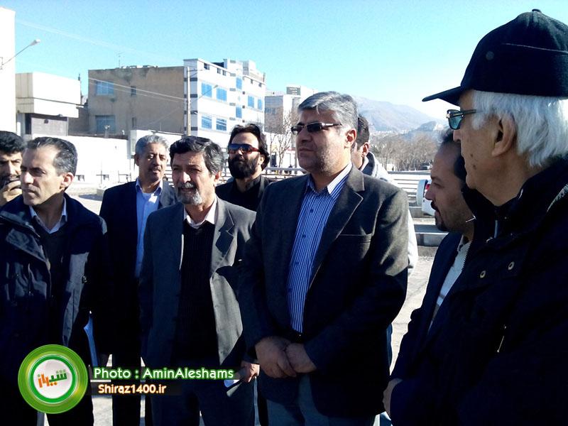 شهردار شیراز: پروژه ستارخان تا پایان فروردین ۹۳ افتتاح میشود