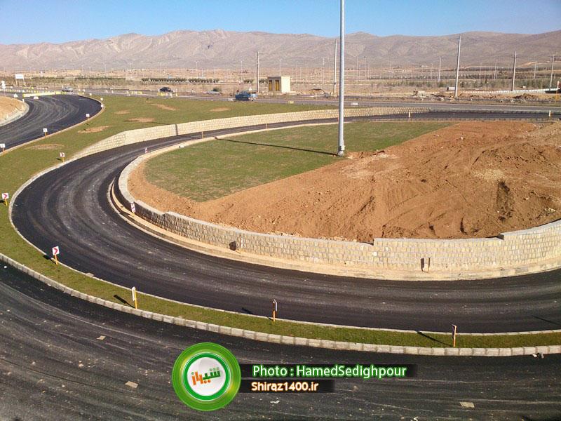 پیشرفت تقاطع غیرهمسطح آرامستان احمدی