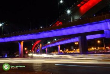 اجرای طرح جامع منظر شهری و نور پردازی ساختمان ها در شیراز