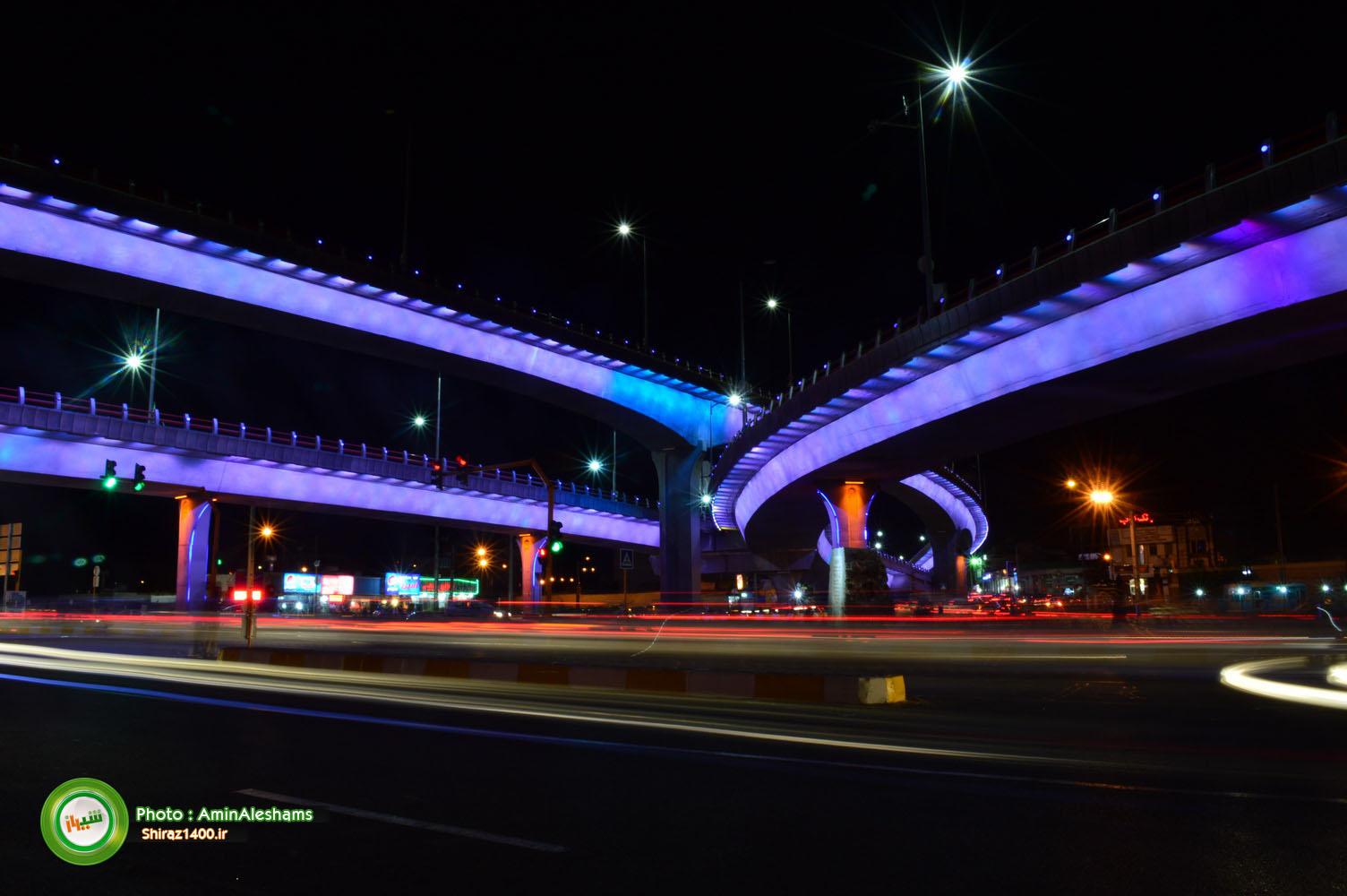 نورپردازی پل معالی آباد