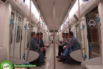 سخنان مدیرعامل قطار شهری و شهردار شیراز در مورد مترو