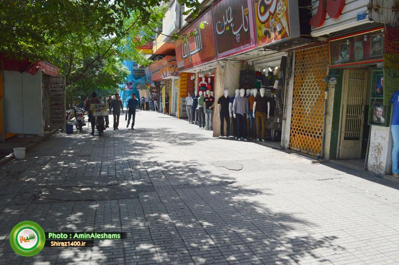 رسیدگی به معابر نامناسب منطقه یک شهرداری / ساخت آبنمای موزیکال در پارک آزادی