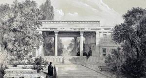 آرامگاه حافظ (تالار) در سال ۱۲۲۰ شمسی