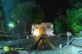 گزارش تصویری : شبی از شب های شیراز، باغ تاریخی جهان نما