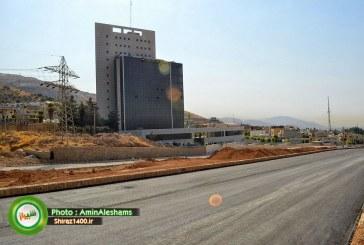 تکمیل رینگ بزرگراهی شرق به غرب شیراز تا 3 سال آینده