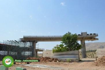 گزارش تصویری : پیشرفت طرح زیباسازی ورودی غربی