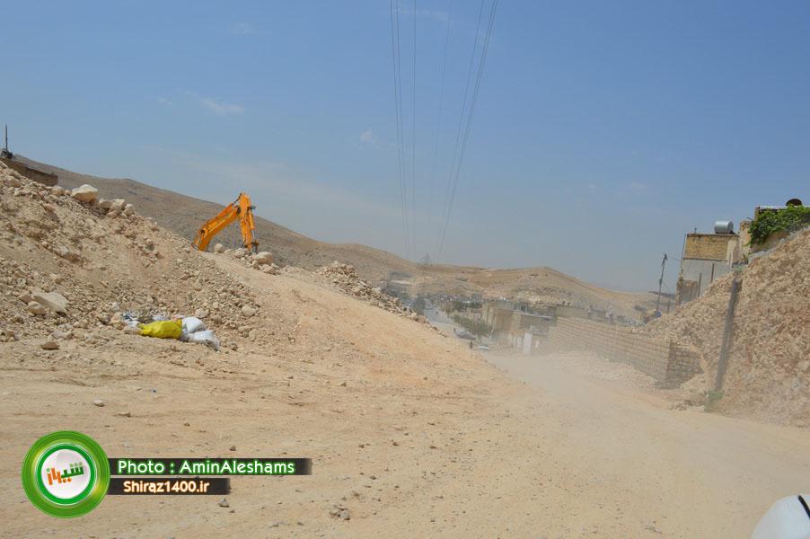 گزارش تصویری : بازگشایی مسیر خروجی تونل سعدی