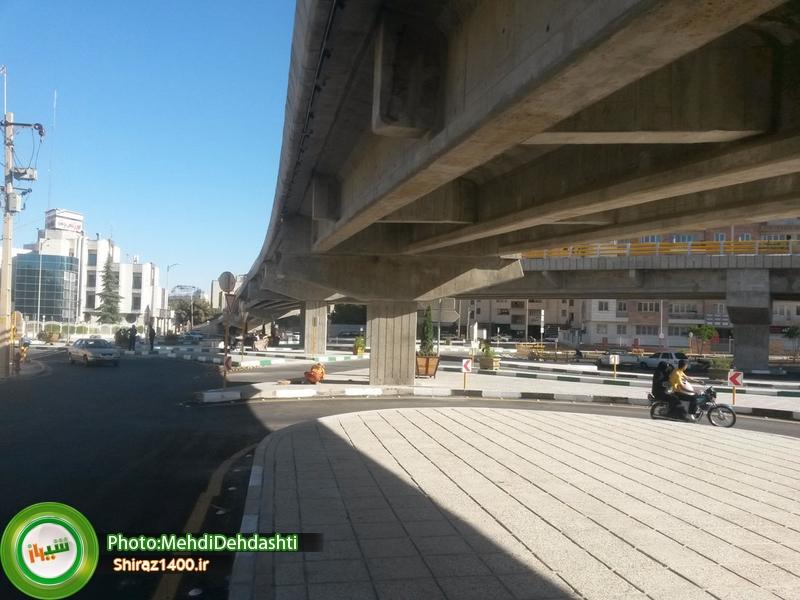 تقاطع ستارخان، یک روز قبل از افتتاح