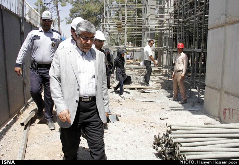 ریزش پل کابلی