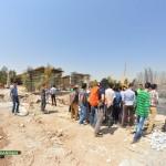 گزارش تصویری : برگزاری تور بازدید از پروژه های عمرانی با حضور علاقمندان