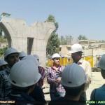 تور بازدید از پروژههای عمرانی شهرداری شیراز