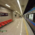گزارش تصویری : ایستگاه مترو احسان