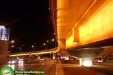 گزارش تصویری: تقاطع ستارخان در شب