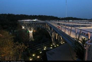گزارش تصویری: بزرگترین پل غیر خودرویی کشور