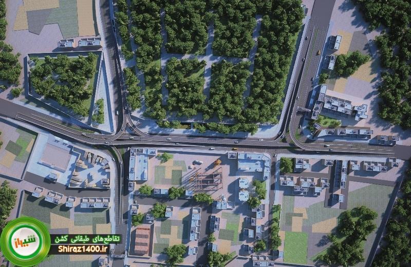 طرح جدید تقاطعهای طبقاتی کشن