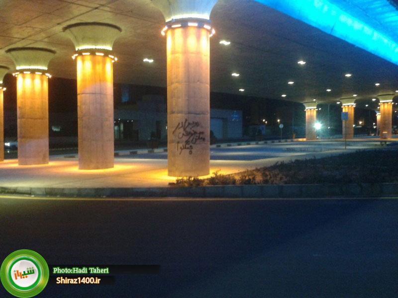 زخم بیفرهنگی بر پیکر پل افتتاح نشده احسان