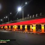 عکس: نورپردازی تقاطع احسان