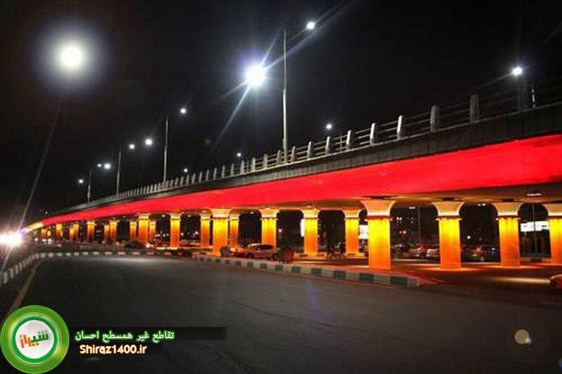 نورپردازی تقاطع احسان