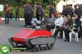 از ربات جدید آتش نشان در شیراز رونمایی شد