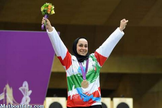 بانوی تیرانداز فارس پس از۳۰ سال مدال طلای آسیا را برای ایران ارمغان آورد
