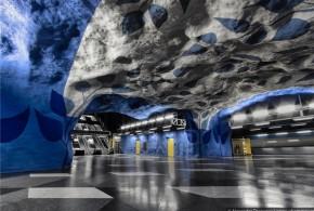 عکس: زیباترین ایستگاههای مترو جهان