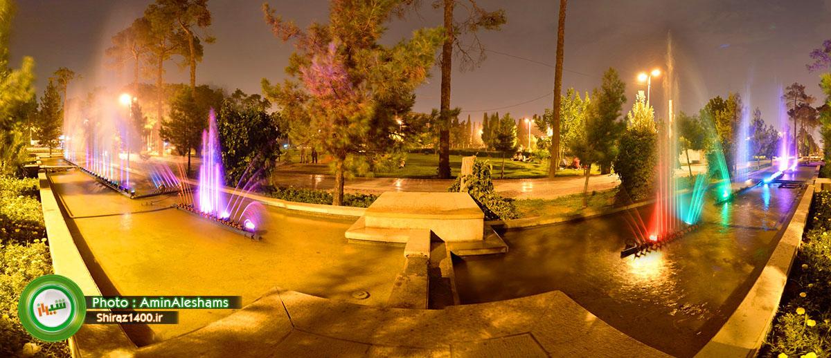آب نمای موزیکال باغ جنت