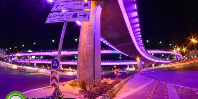 مروری بر تقاطع های بزرگ، طبقاتی و سه سطحی شیراز