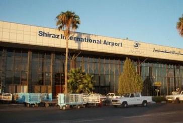 بحران در فرودگاه بینالمللی شیراز با یک بارندگی!!!