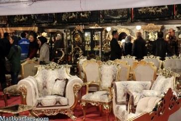گزارش تصویری: آغاز به کار هجدهمین نمایشگاه مبلمان، دکوراسیون و چراغهای تزئینی