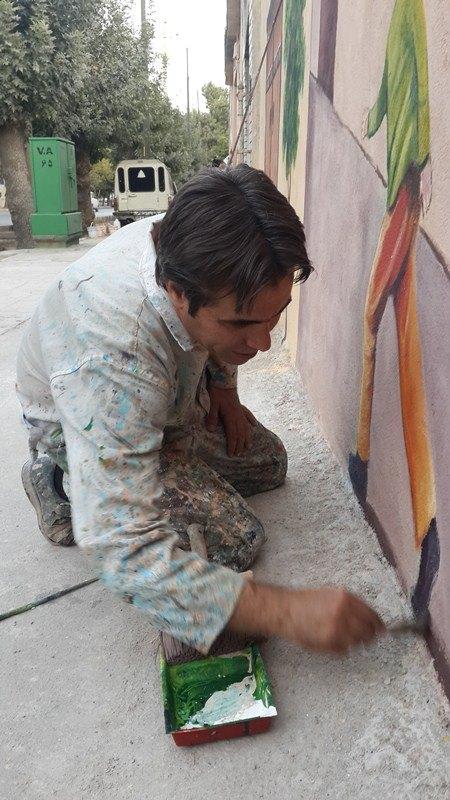 استاد امیر باقری هنرمند ارزشمند شهرمان