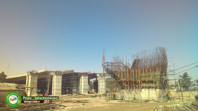 گزارش تصویری : پل کابلی ولیعصر