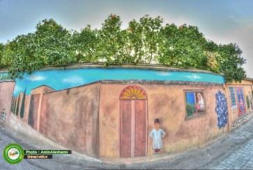 گزارش تصویری : نقاشی دیواری خیابان قصردشت