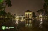 میزان اولین بارش پاییزی شیراز ۱۴.۵ میلیمتر بود