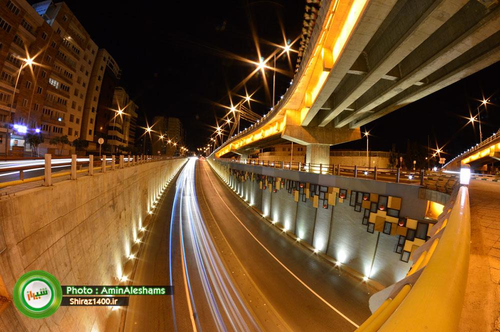 عکس : تقاطع سه سطحی ستارخان