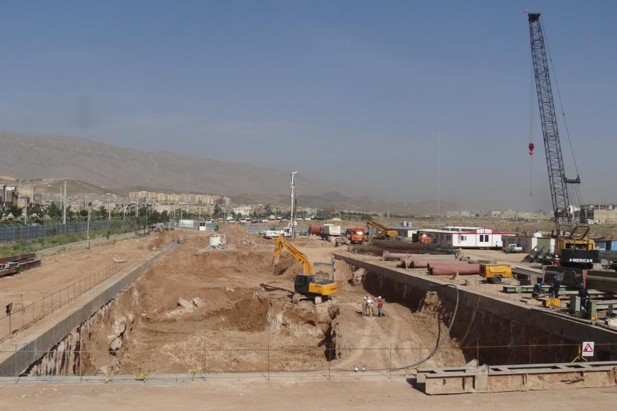 خط ۲ مترو کلانشهر شیراز