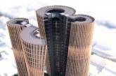 طرح پیشنهادی برجهای دوقلوی زند شیراز